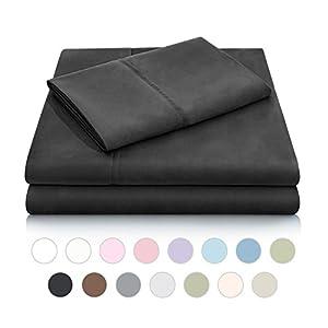 Malouf Super Soft Double Brushed Microfiber Wrinkle Resistant Luxury Bed Sheet Set