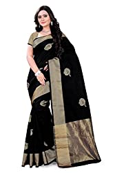 Amigos Fashion Women's Tassar Silk Saree (AF-13)