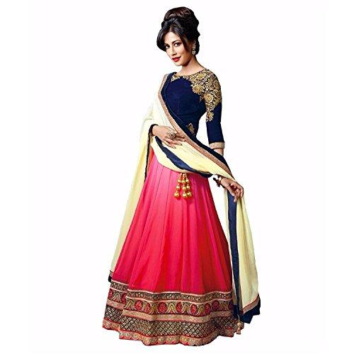 Vibhu-Darshan-Enterprise-Womens-Georgette-Lehenga-Cholivibhu01BlueFree-Size