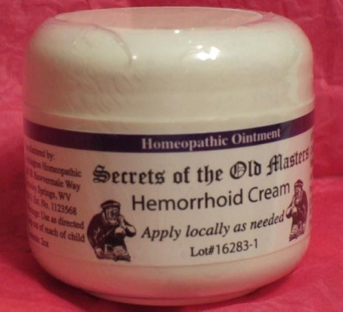 Homeopathic Hemorrhoid Cream (2 oz.)