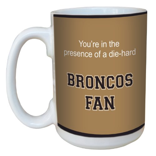 Tree-Free Greetings Lm44955 Broncos College Basketball Ceramic Mug With Full-Sized Handle, 15-Ounce