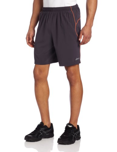 ASICS ASICS Men's 9468 Lazer Woven Short, Steel Zest, Large