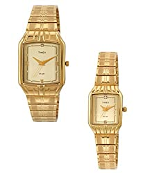 Timex Classics Analog Gold Dial Unisexs Watch - PR59