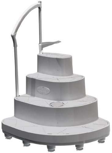 Modular above ground pool steps above ground pool ladders for Wedding cake swimming pool steps