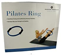 Hugger Mugger Pilates Ring with Foam Grips, Blue