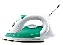 Morphy Richards Mirage 200 1400Watt,230V,50Hz Steam Iron (Green and White