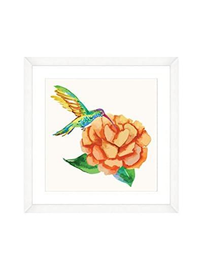 Art Source Watercolor Hummingbird Print, Multi, 22 x 22