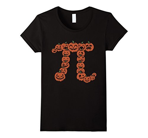 Women's Pumpkin Pi Math Shirt | Funny Halloween T Shirt