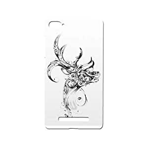 BLUEDIO Designer 3D Printed Back case cover for Xiaomi Mi4i / Xiaomi Mi 4i - G6459