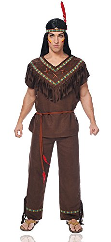 Costume Culture Men's Native American Brave Costume