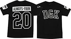 DGK Always 420 Black Medium T-Shirt