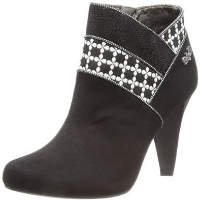 Ruby Shoo Women's Cher Boots 08451 Black 5 UK, 38 EU