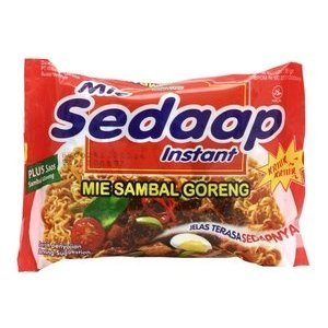 Mie Sambal Goreng (Hot and Spicy Fried Noodles) - For 10 Bags