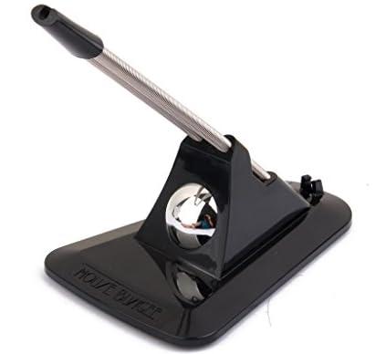 【ノーブランド品】マウス バンジーコード クリップ 柔軟 ワイヤー フィクサー ケーブル (ブラック)