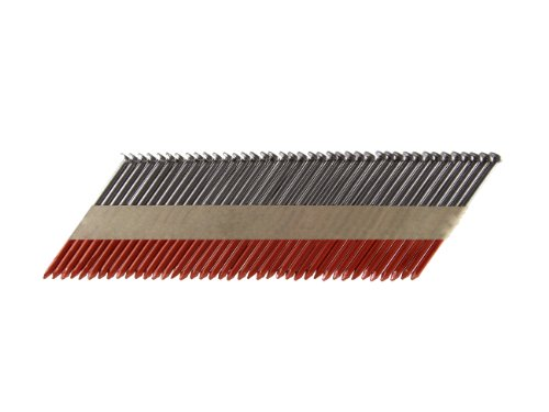 B&C Eagle A314X131/33 Offset Round Head 3-1/4-Inch x .131 x 33 Degree Bright Smooth Shank Paper Tape Collated Framing Nails (500 per box)