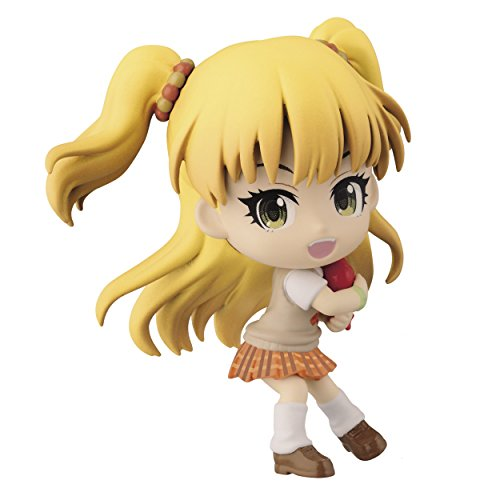 Banpresto The Idolmaster 2.4-Inch Rika Jougasaki Cinderella Girls Figure Chibi-Kyun-Chara Passion Visual Series