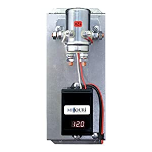 12 Volt Digital 440 Amp Charge Controller with Divert Relay & LED Meter for Wind and Solar
