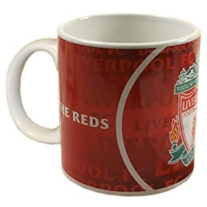 Liverpool Fc Mug - Large Jumbo - The Reds by Official Football Merchandise