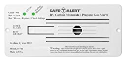 MTI 35-742-WT White LP and Carbon Monoxide Flush Mount Detector