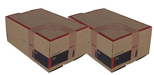 2 PACK - Tubes, 26 x 1.00-1.25 - 32mm, Standard Schrader Valve, Sunlite