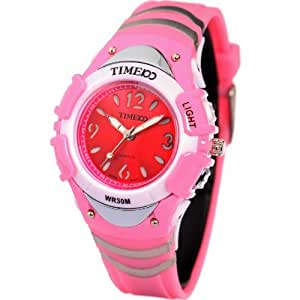 time100 multifunction el fancy pink digital