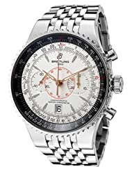 Men's Navitimer Automatic/Mechanical Chronograph Silver Dial Stainless Steel