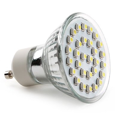 Luo Gu10 3528 Smd 30-Led White 70-90Lm Light Bulb (230V, 1-2W)