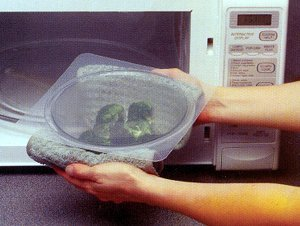 Micro Tops Microwave Cooking Covers / Splatter Guard Set