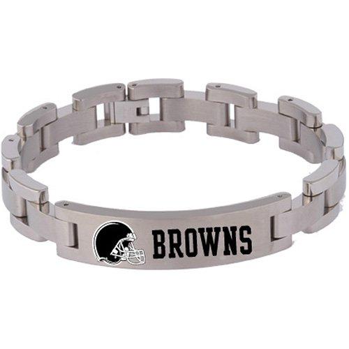 Team Titanium Cleveland Browns Women's Titanium Bracelet