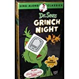 Dr. Seuss: Its Grinch Night (Sing-Along Classics) [VHS]