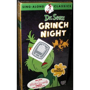 Dr. Seuss: It's Grinch Night (Sing-Along Classics) [VHS]