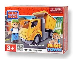 Mega Bloks - Blok Town Vehicle - DUMP TRUCK