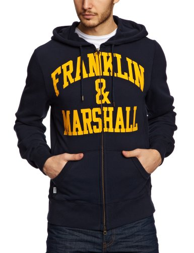 Franklin & Marshall FLMC026S13 Men's Sweatshirt Navy Large
