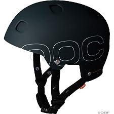 POC Receptor + Helmet, Black, Large