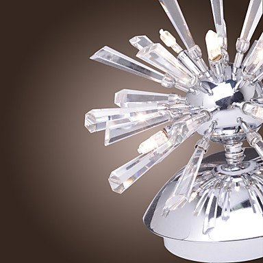 mur de cristal clair avec 6 lumiššres