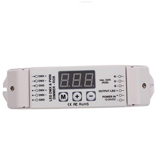 Dmx512 Decoder Led Dmx Dimmer 4 Channel Multi-Function Bc-834 Dmx512 Controller Constant Voltage