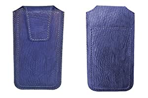 TOTTA PU Leather Pull Up Pouch For UMI Iron BLUE
