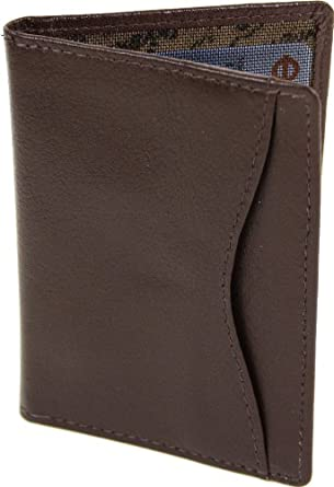 1642 Soft Nappa Leather - Travel Pass / Oyster Card Holder (5307 17) - Brown