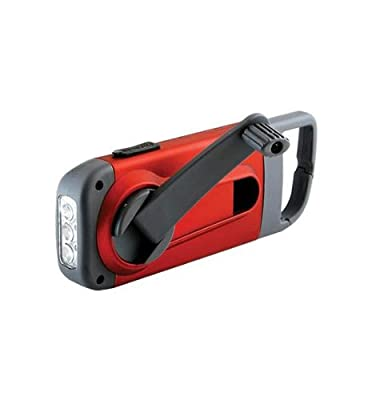 American Red Cross Clipray Clip-On Flashlight and Smartphone Charger, ARCCR100R-SNG from Eton