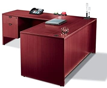 Offices to Go SL7136DS 71 inch L Shaped Desk with Drawers