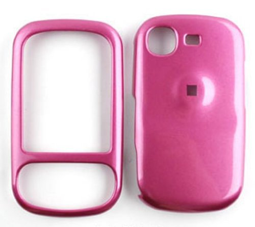 Samsung-Strive-A687-Honey-Pink-Snap-On-Cover-Hard-Plastic-Case-Face-cover-Protector