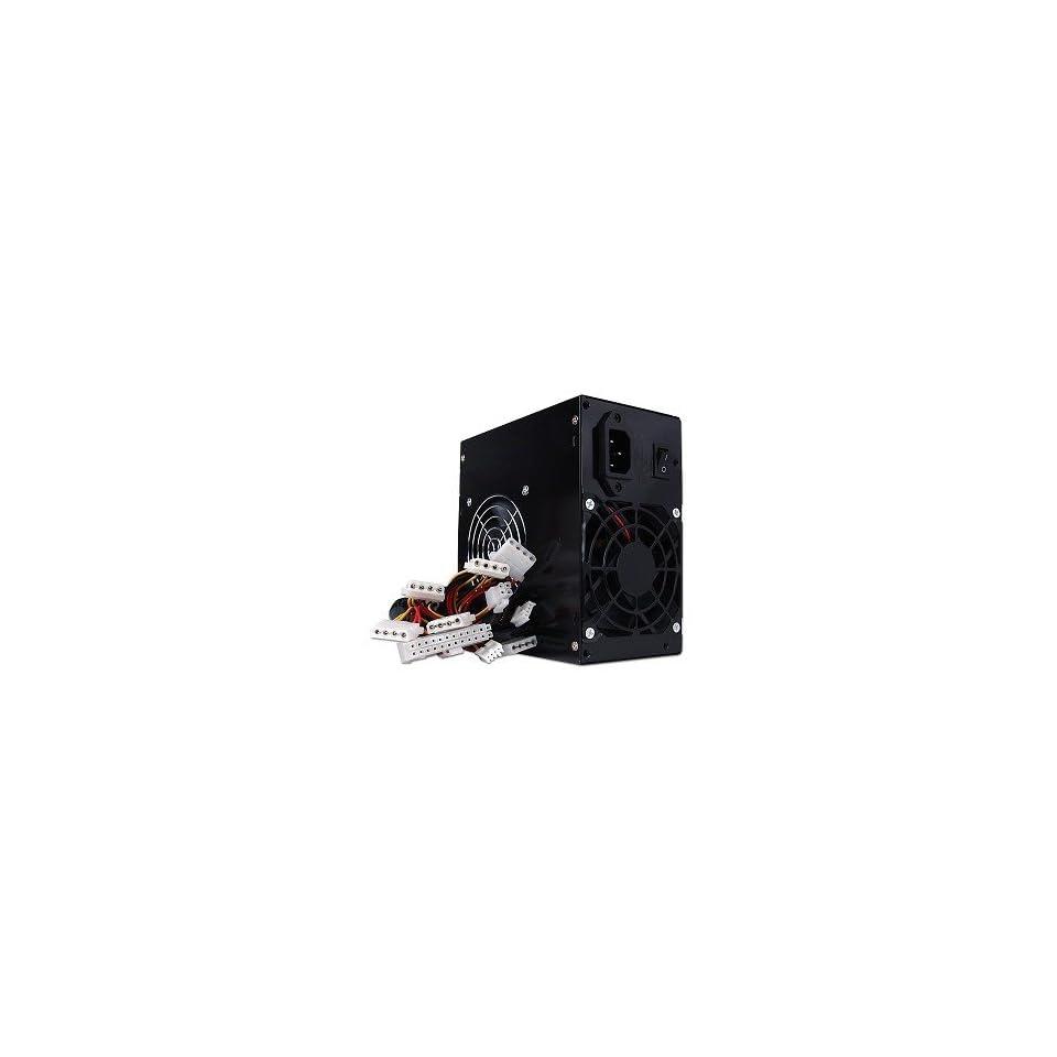 Power Pure Black 680W 20+4 pin Dual Fan ATX PSU w/SATA Electronics