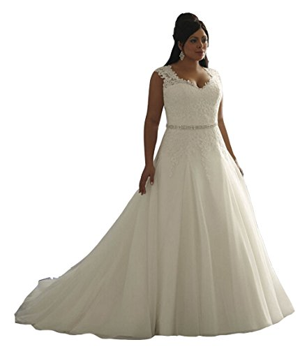 Enjoybuys women 39 s clasic aplliques a line wedding dresses for Amazon cheap wedding dresses