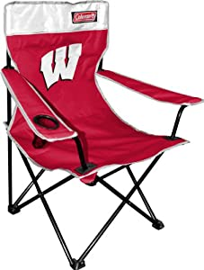 Buy NCAA Wisconsin Badgers Coleman Folding Chair With Carrying Case by Coleman