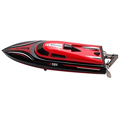 Babrit Tempo 1 2.4GHz High Speed Remote Radio Control Electric Boat RC Boat(Upgrade Version) by Babrit