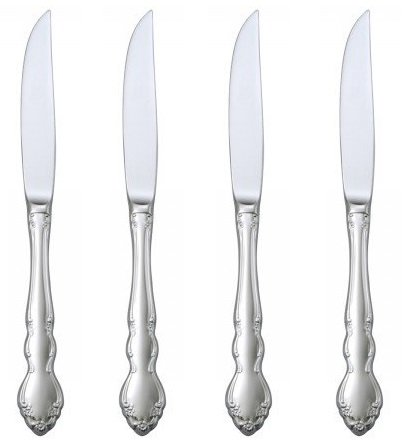 Oneida Dover Steak Knives, Set Of 4