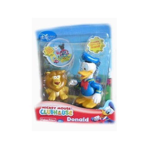 Disney Mickey Mouse Clubhouse Donald Duck With Lion front-797773