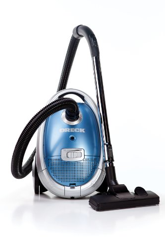 Oreck Quest MC1000 Compact Canister Vacuum for Upholstery Stairs Carpet