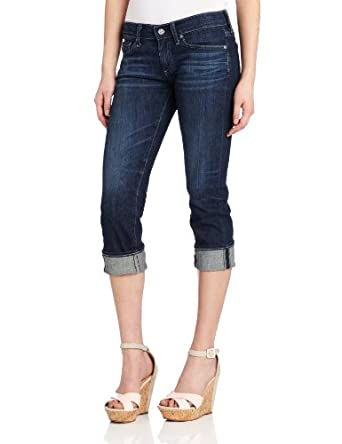 AG Adriano Goldschmied Women's The Tomboy Crop Jean, 4 Years-Brisk Blue, 31