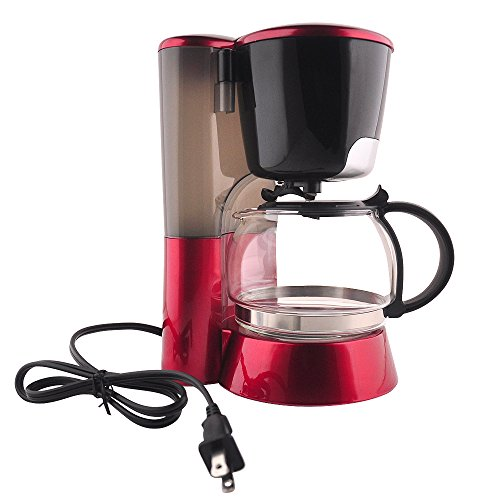 PHY 4-cup/0.6l Switch Coffee Maker / Coffee maker with Glass Carafe & Permanent Filter & Semi ...